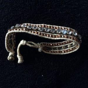 Jewelry - Boho Bronze Braided Bracelet